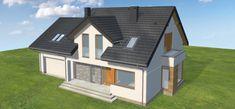Projekt domu Praktyczny 4 160,8 m2 - koszt budowy - EXTRADOM
