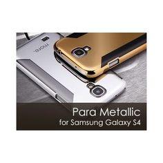 Para Metallic for Samsung Galaxy (Dark Gold) Samsung Galaxy S4 Cases, Tech Gadgets, Galaxies, Geek Stuff, Phone Cases, Dark, Metallic, Gold, Stuff To Buy