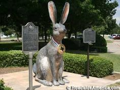 World's Largest Jackrabbit, Odessa, Texas. North of in downtown Odessa at W St. and N Sam Houston Ave. Odessa Texas, Midland Texas, Waltz Across Texas, Loving Texas, Jack Rabbit, Texas History, West Texas, Roadside Attractions, Oil And Gas