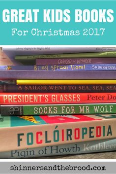 If you love buying books as gifts or filling stockings with some of the best ones around, check out the ultimate list of kids' books for Christmas, Craft Activities For Kids, Crafts For Kids, Mister Wolf, Wild Waters, Better One, Christmas 2017, Cool Kids, Irish, About Me Blog