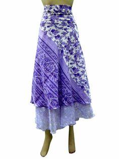 Wrap Skirt Vintage Sari Blue Floral Printed Reversible Two Layer Long Sarong Dress Mogul Interior,http://www.amazon.com/dp/B00HWNFSFA/ref=cm_sw_r_pi_dp_joX2sb09Y5XSA0VQ