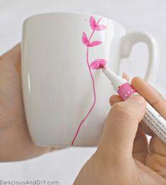 Easy handpainted Mug