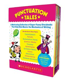 Punctuation Tales Paperback Set by Scholastic Teaching Resources #zulily #zulilyfinds