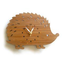 Cute wooden animal shaped clock :)