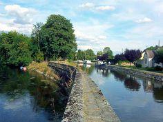 A Accolay, la Cure rencontre le canal du Nivernais. #Yonne #HauteBourgogne