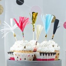 Tassel Cupcake Toppers (12st)