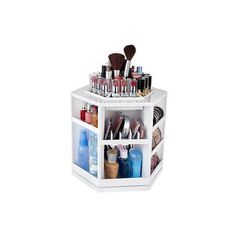 How do you organize your makeup? | LUUUX ❤ liked on Polyvore featuring beauty products, makeup, home, beauty, fillers and room