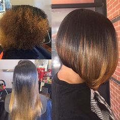 Hairstylist Feature  Loving this hair transformation by @hairbychantellen   Sandy Springs, GA #iluvyourhair #ilyh #hairstyles #beforeandafter #hairinspiration #naturalhair