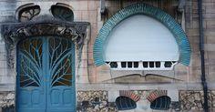 Situées quai Claude le Lorrain, les maisons Huot témoignent de la richesse des réalisations Art Nouveau à Nancy.