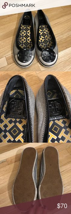 Tory Burch Flats Trendy Tory Burch flats size 7! 100% authentic. Tory Burch Shoes Flats & Loafers