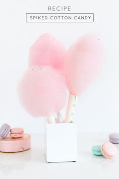 Spiked Cotton Candy. Say what? Say yes.
