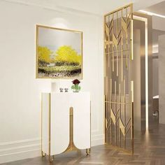 #screen #interiordesign #metal Stainless Steel Angle, Steel Art, Wall Partition Design, Stainless Steel Flat Bar, Metal Screen, Wooden Room, Living Room Design Modern, Steel Gate Design, Stainless Steel Art
