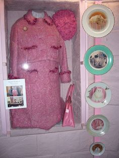 One of Umbridge's costume on display