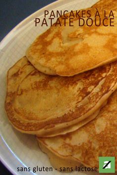 Pancakes à la patate douce – Healthy Meals Pancakes Sans Gluten, Cupcakes, Vegan Breakfast, Crepes, Cooking Time, Diet Recipes, Good Food, Easy, Food And Drink