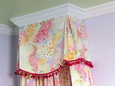 DIY:  Build your own crown molding bed canopy - great instructions.