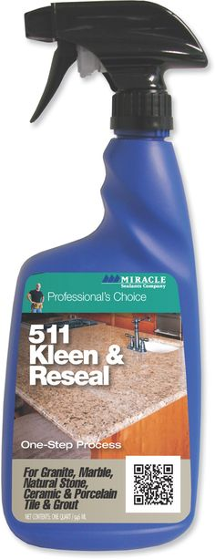 Cleaners : 511 Kleen & Reseal