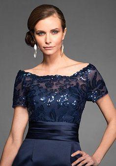 Jasmine Black Label M160064 Blue Mother Of The Bride Dress