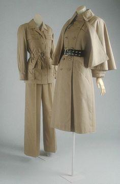 "1970's ""safari look"" by Yves St. Laurent (YSL)"