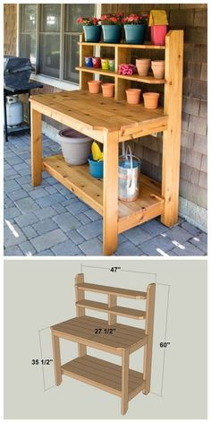 Inbox U2013 Dhogansalem@gmail.com · Potting BenchesOutdoor ProjectsGardenDiy