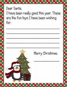This Letter From Santa Addresses The Issue Of A Child Having