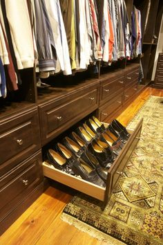Drawers to go under our existing closet system?