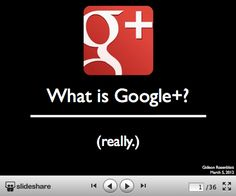 Why Is Google+ Not Competing With Facebook And How Are Shared Interests Not Social Networks? #slideshow
