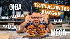 TRIPLASZINTES-triplahúsos burger!