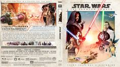 Star Wars Episode I: The Phantom Menace Blu-ray Custom Cover