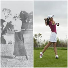 Golf then & now!