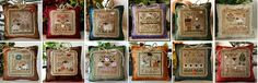 FULL BUNDLE 2013 Sheep Virtues cross stitch charts Little House Needleworks - Holidays & Occasions