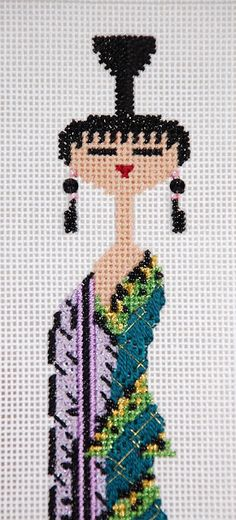 It's not your Grandmother's Needlepoint: Look who's coming to the party
