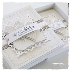 kartka ślubna w pudełku Valentine Love Cards, Diy And Crafts, Paper Crafts, Wedding Cards Handmade, Scrapbook Cards, Scrapbooking, Stamping Up Cards, Baby Cards, Cute Cards