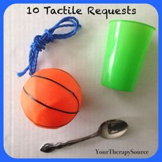 10 Tactile Requests instead of verbal requests