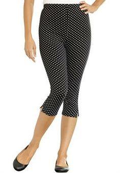 Women's Plus Size Petite leggings stretch denim | Petite leggings ...