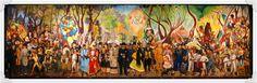 Diego Rivera. Sueño de una tarde dominical en la alameda.1947.