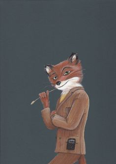 Fantastic Mr. Fox  - Print