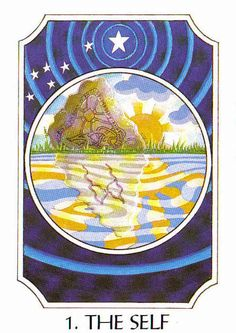 1. The Self (Mannaz) - Rune Cards by Ralph Blum Illustrated by Jane Walmsley