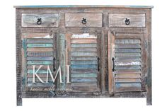 "komoda ""Loft Colors"" bielona M115 LF"