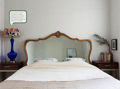 Mirrored Headboards Transitional Bedroom The Cross Decor
