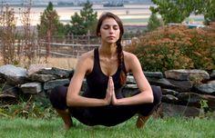 Yoga Pose Breakdown | Garland Pose, Malasana
