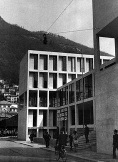 Sede dell'Unione fascista dei Lavoratori dell'Industria, Como, 1938-42 Pietro Lingeri/Luigi Origoni/Cesare Cattaneo