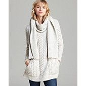 MARC BY MARC JACOBS Sweater with detachable scarf - Connolly