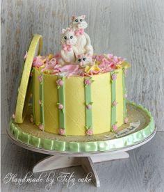 https://flic.kr/p/fKBKcv   Cats cake