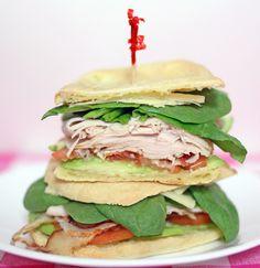 Turkey BLAT (bacon, lettuce, avocado, tomato) sandwich  See full post: http://www.j3nn.net/2011/11/17/epic-turkey-blat/