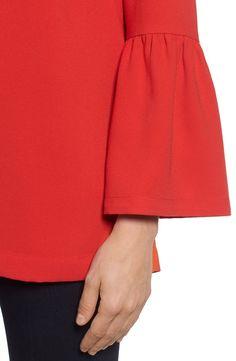 Main Image - Halogen® Bell Sleeve Tunic (Regular & Petite)