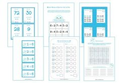 Leuke tafelspelletjes om het oefenen van de tafels op speelse wijze aan te bieden. Math Poster, Math Multiplication, Gifted Kids, Math For Kids, School Hacks, Good Company, Kids Education, Teaching Math, Fun Learning