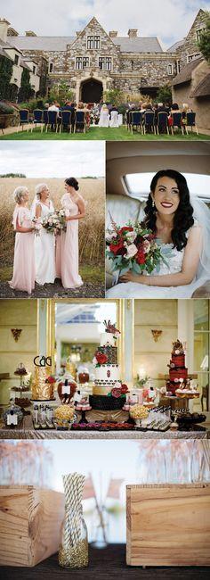 Gorgeous Irish wedding venues from real weddings from Confetti - Ireland's biggest wedding magazine Irish Wedding Dresses, Wedding Venue Inspiration, Wedding Ideas, Snowflake Designs, Tonne, Wedding Stationery, Special Day, Confetti, Real Weddings