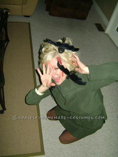 """Best Homemade Tippy Hedren from """"The Birds"""" Costume... This website is the Pinterest of costumes"""