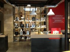 Malongo Café- near Saint Germain des prés. Good coffee and nice, modern look and feel to the place. It also functions as a store so you can buy any coffee-related apparatus there as well.