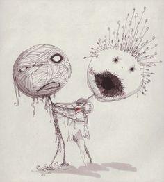tim burton art | Tim Burton artwork heading to L.A. - Sacramento Comic Books | Examiner ...